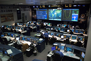 Science - NASA's Mission Control (modified)